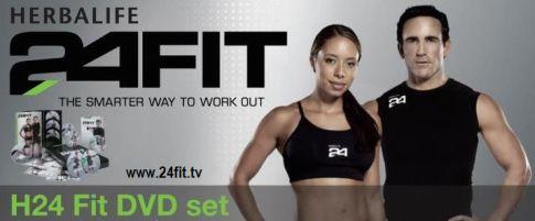 H 24 Fit DVD Set